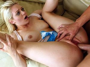 Blonde cutie gets brutally fucked by her partner - XXXonXXX - Pic 2