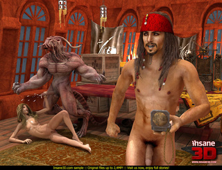 horny monster pirate team