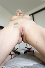blonde darling with shaved