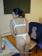 stimulating gal shows off
