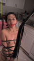 Dark haired babe loves being a submissive little…
