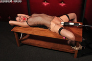 luscious hottie displays her