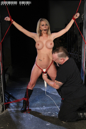 Luscious blonde bares her lusty boobs an - XXX Dessert - Picture 10