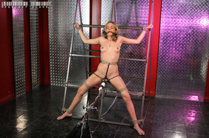 Blonde bombshell teases with her allurin - XXX Dessert - Picture 6