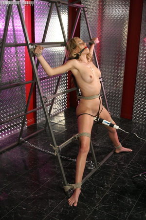 Blonde bombshell teases with her allurin - XXX Dessert - Picture 14