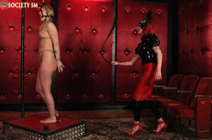 Tall curvy blonde gets roped, tortured a - XXX Dessert - Picture 10