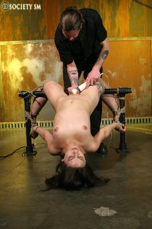 Hot ass tattooed brunette roped, hung, w - XXX Dessert - Picture 7