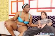 naughty big ebony blue