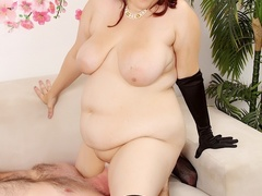 Hot big brunette in black corset gets licked and fucked - Picture 13
