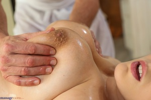 Blonde in purple gets her pussy and big  - XXX Dessert - Picture 4