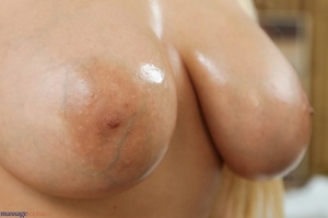 Blonde in purple gets her pussy and big  - XXX Dessert - Picture 7