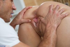 Blonde in purple gets her pussy and big  - XXX Dessert - Picture 9