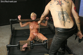 black, bondage, tits, wax