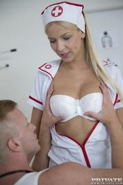 slutty nurse treats patients