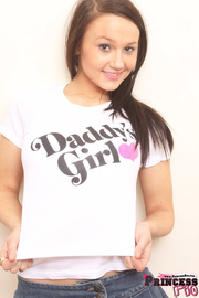 teen girl skimpy denim