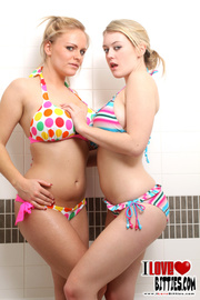 two hot babes with