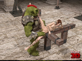 Hung medieval demons and ogres find nice pussies to - Picture 2