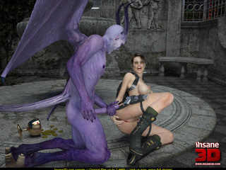 Ogres with big dicks drill horny and wet bombshell - Picture 4