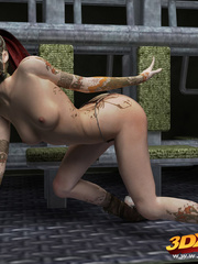 Slutty scifi babes tease their sexy and tight bodies - Picture 5
