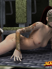 Slutty scifi babes tease their sexy and tight bodies - Picture 6