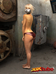 Scifi sluts show off their sexy and curvy bodies in - Picture 6