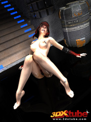 Beautiful alien women with revealing costumes tease - Picture 2