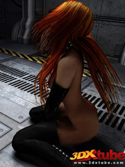 Beautiful alien women with revealing costumes tease - Picture 6