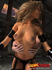 Curvy exotic sluts get fucked and fingered by horny - Picture 5