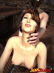 Slave slut gets commanded to fuck her warrior master - Picture 9
