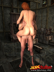 Sexy brunette gets sensually fucked by dude by the - Picture 4