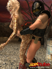 Alien babe with wet pussy gets fucked by traveller's - Picture 6