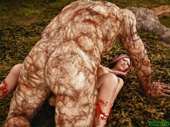 Women get fucked hard by different monsters with - Picture 3