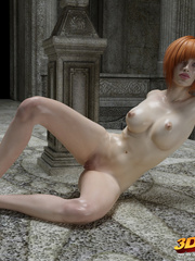 Blonde, redhead babes get into a hot lesbian sex in - Picture 3