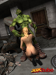 Sexy and horny blonde witch rides the hung dick of - Picture 5