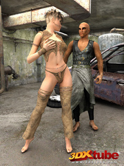 Post-apocalyptic babe have sex with exotic dude in - Picture 1