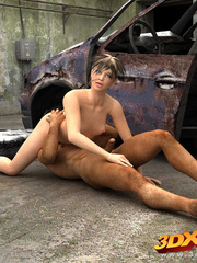 Post-apocalyptic babe have sex with exotic dude in - Picture 3