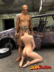 Post-apocalyptic babe have sex with exotic dude in - Picture 8