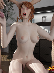 Hung dude gets fucked by a sexy tranny while sucking - Picture 4