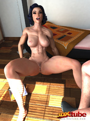 Ripped female dance is fucked by her hung gentleman - Picture 3