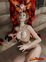 Two very sexy girls gets fucked hard by very hung - Picture 9