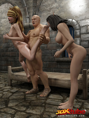 Two elven prisoners gets naked and is pounded hard by - Picture 7