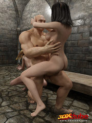 Two elven prisoners gets naked and is pounded hard by - Picture 8