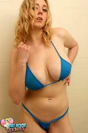 blonde seductress hot blue