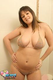 lovely brunette white top