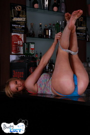 blonde bar babe matching