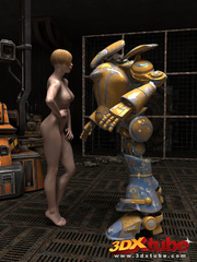 Sexy sluts with nice bodies get aroused by robots and - Picture 3