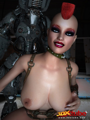 Sexy sluts with nice bodies get aroused by robots and - Picture 7
