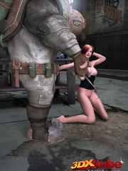 Sexy sluts with nice bodies get aroused by robots and - Picture 9
