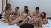 swinger couples giving interview