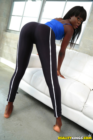 juict ass ebony black